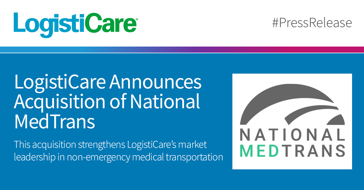 LogistiCare Announces Acquisition of National MedTrans - 05-07-2020