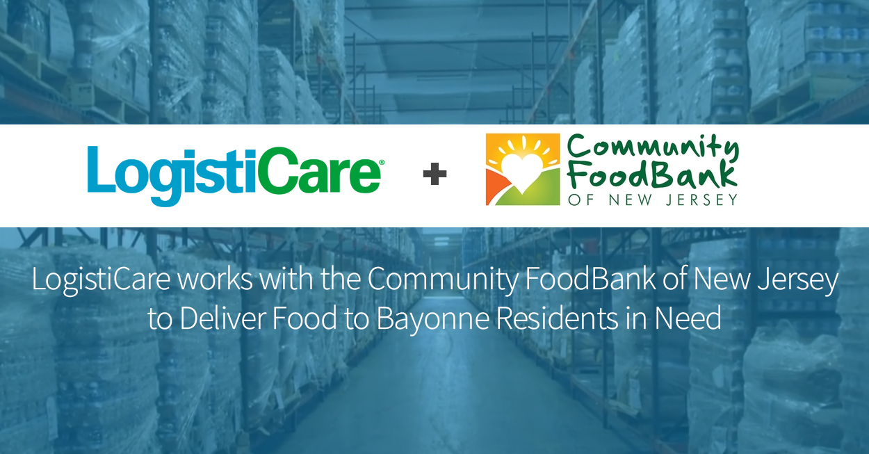 LogistiCare Delivers Food to Bayonne Residents in Need - 05-08-2020