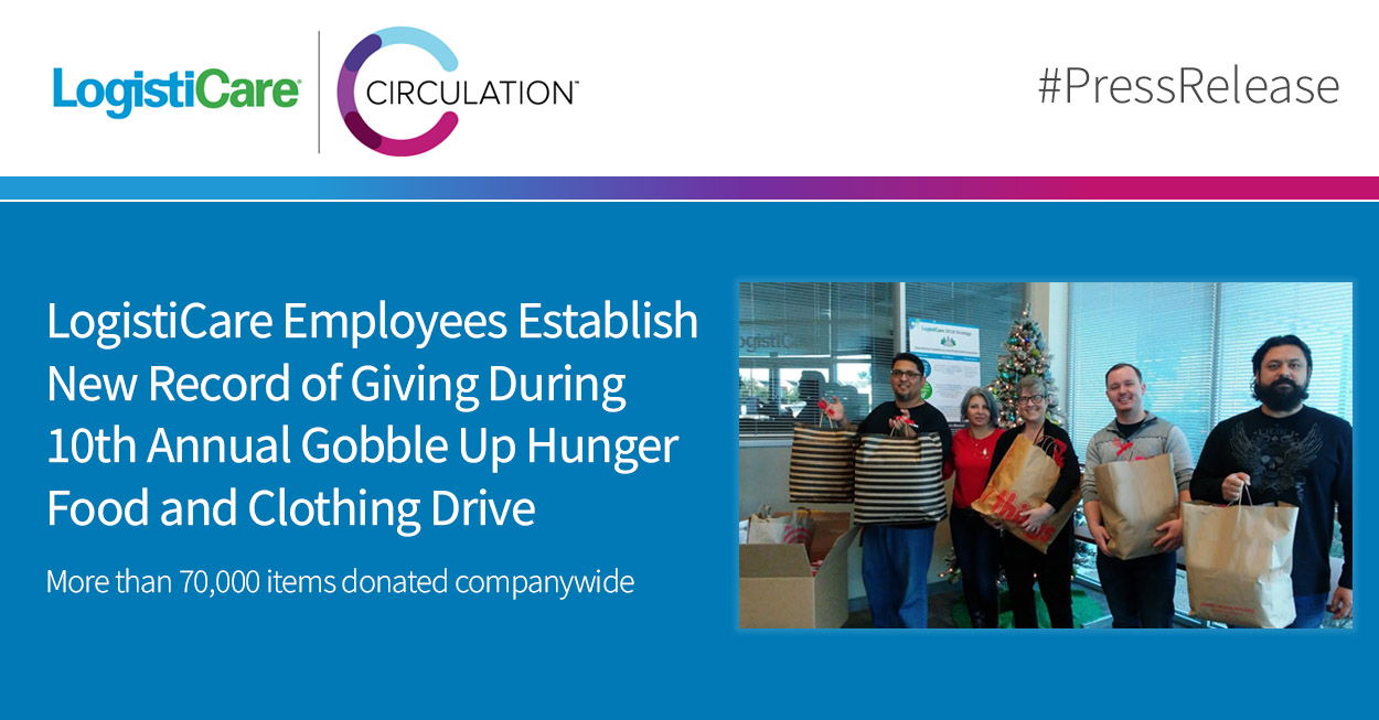 LogistiCare Employees Establish New Record of Giving _01-07-2020